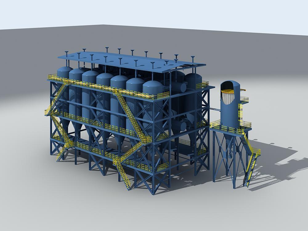 BK-FTCDM系列分筒长袋低压脉冲除尘器