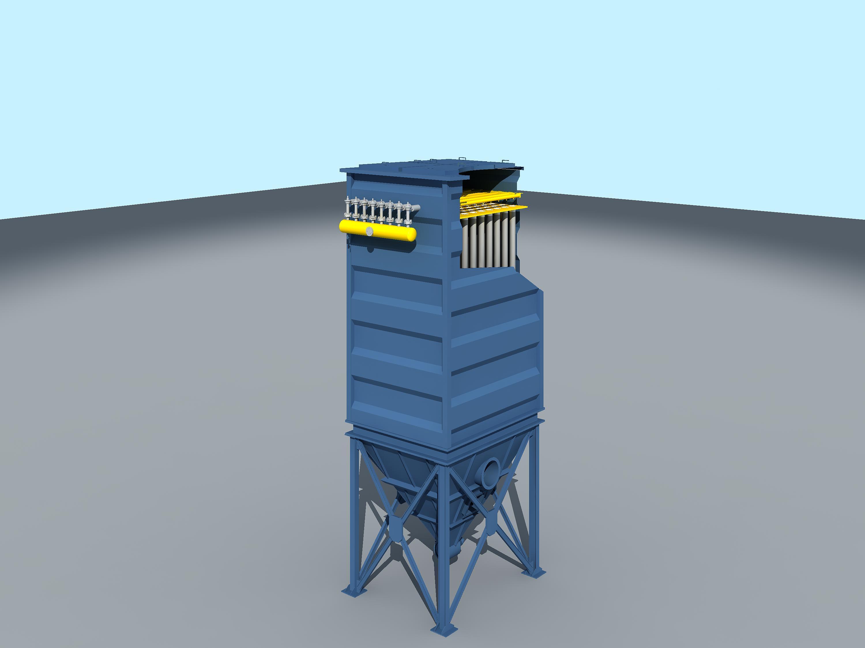 BK-FXMC系列单机脉冲除尘器