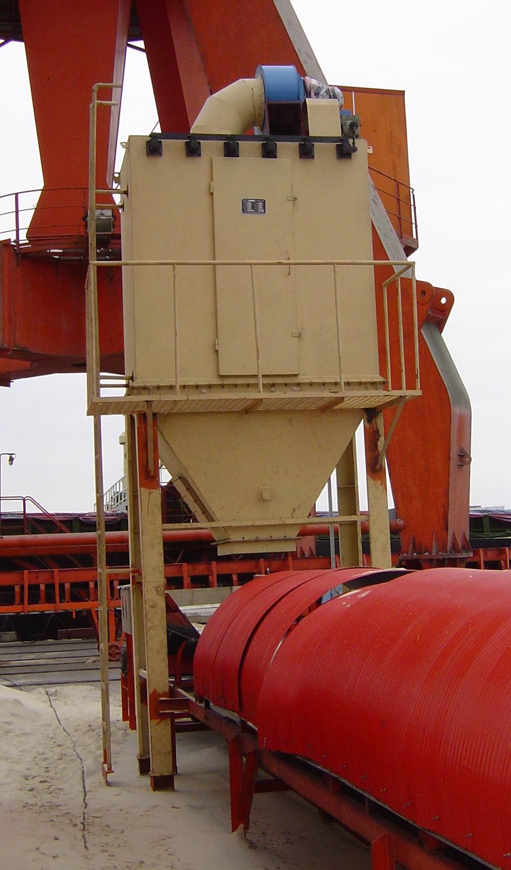 BK-UF系列单机袋式收尘器