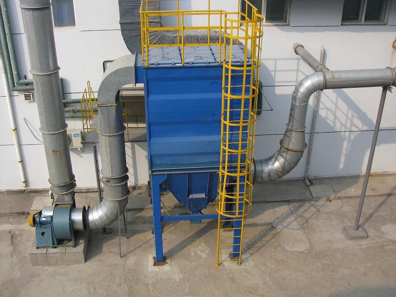 山东鲁抗制药厂发酵车间BK04-DMC72A除尘器系统