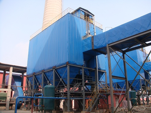 江西龙达化纤BK01-CDDM-4700燃煤锅炉除尘1
