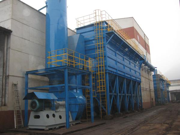 中国南车贵阳车辆厂BK-FXMC840除尘系统