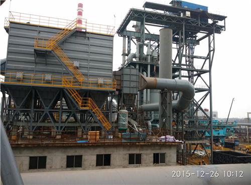 广西盛隆冶金有限公司150吨 焦化干熄焦二期配套除尘系统